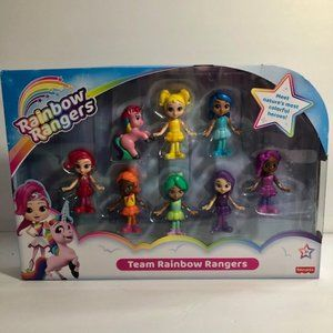 NEW Rainbow Rangers by Fisher Price Age 3+.